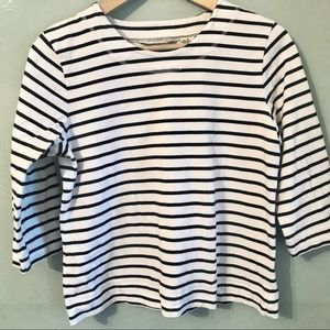 Orvis Classic 3/4 sleeve striped sailor t-shirt